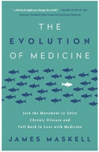 The Evolution of Medicine by Jame Maskell Book Cover