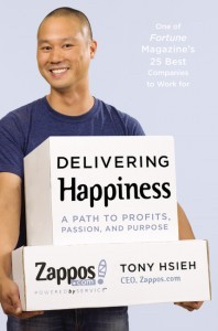 Image of Book Delivering Happiness by Tony Hsieh