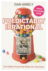 Dan Ariely Book Cover Predictably Irrational