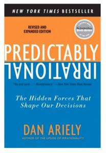Dan Ariely Book Cover version 2 Predictably Irrational